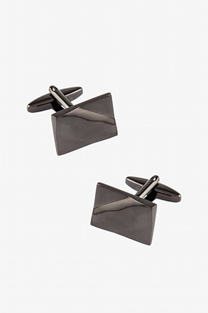 Large Solid Slanted Cufflinks