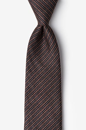 Gilbert Orange Extra Long Tie