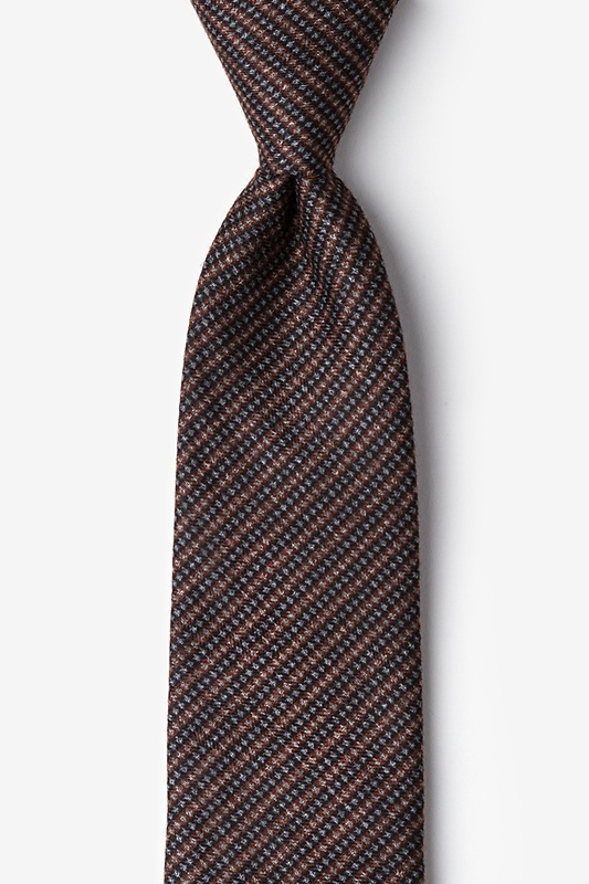 Gilbert Orange Extra Long Tie Photo (0)