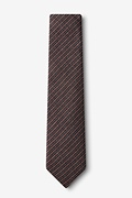 Gilbert Orange Skinny Tie Photo (1)