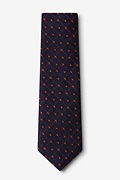 Gresham Orange Extra Long Tie Photo (1)
