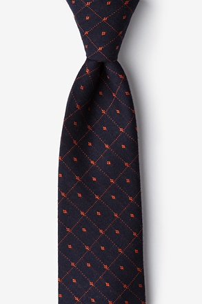 _Gresham Orange Extra Long Tie_