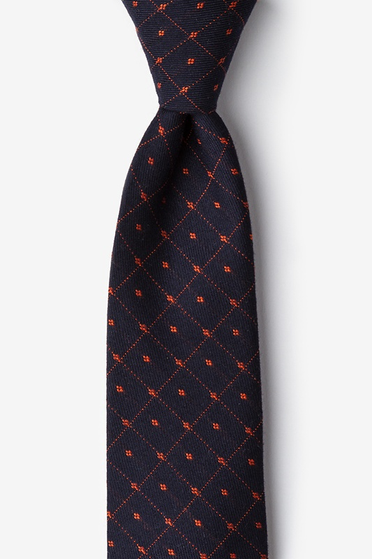 Gresham Orange Extra Long Tie Photo (0)
