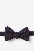 Orange Cotton Gresham Self-Tie Bow Tie