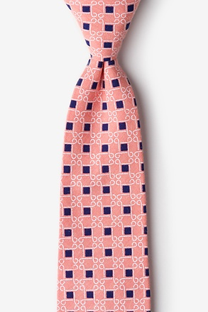 Jamaica Orange Extra Long Tie