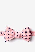 Orange Cotton Jamaica Self-Tie Bow Tie