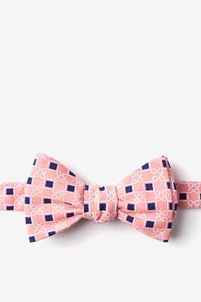 _Jamaica Orange Self-Tie Bow Tie_