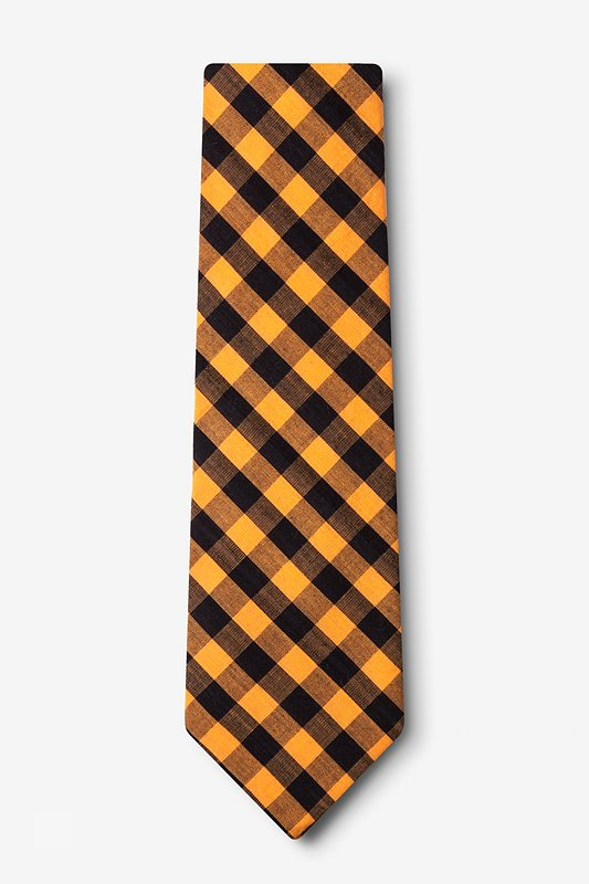 Pasco Orange Extra Long Tie Photo (1)