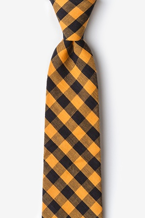 _Pasco Orange Extra Long Tie_