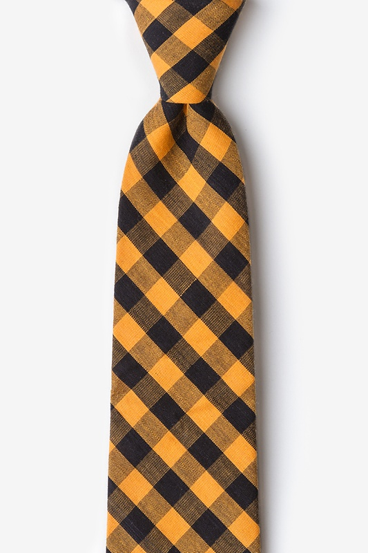 Pasco Orange Extra Long Tie Photo (0)