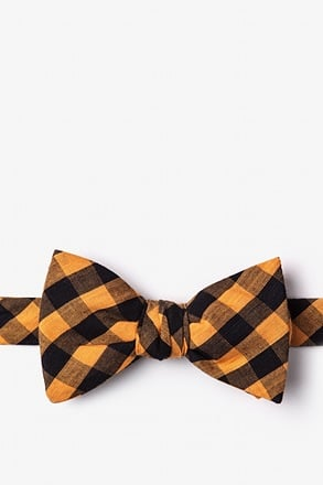 _Pasco Orange Self-Tie Bow Tie_