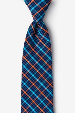 _Sahuarita Orange Extra Long Tie_