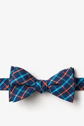 _Sahuarita Orange Self-Tie Bow Tie_