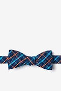 Orange Cotton Sahuarita Skinny Bow Tie
