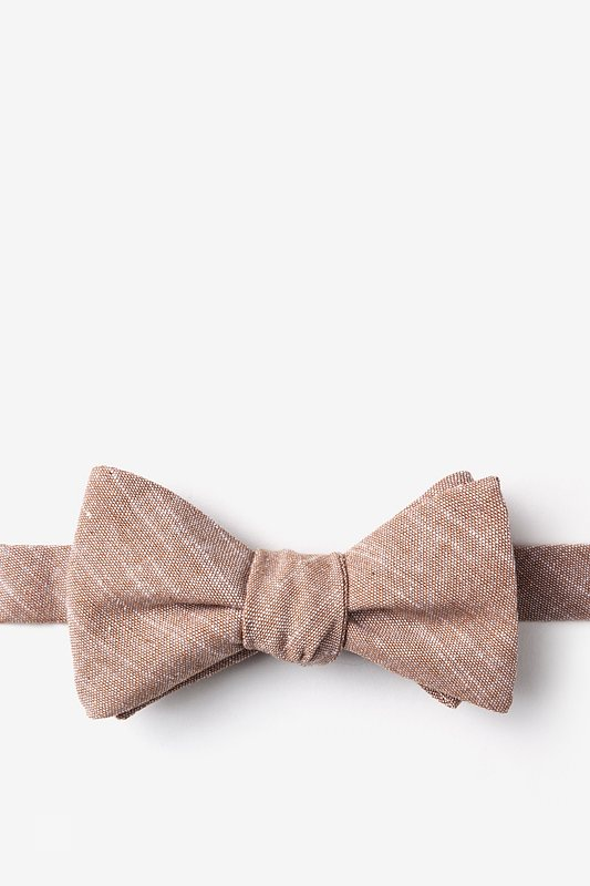 Wortham Self-Tie Bow Tie Photo (0)
