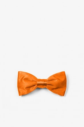 Orange Dream Bow Tie For Infants