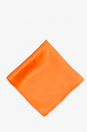 _Orange Dream Pocket Square_