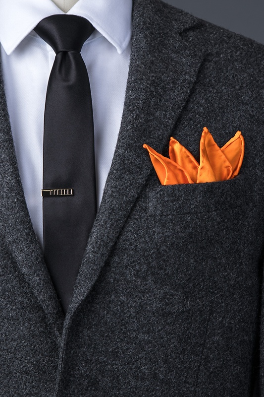 Orange Dream Pocket Square Photo (3)