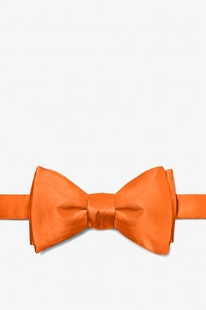 Orange Dream Self-Tie Bow Tie