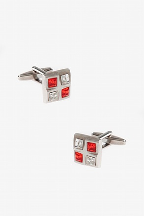Divided Squares Cufflinks