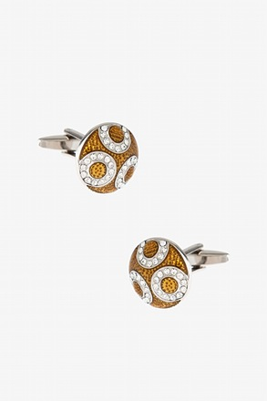 Round Regal Cufflinks