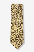 Cheetah Animal Print Tie Photo (1)