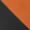 Orange Microfiber Orange & Black Stripe