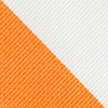 Orange Microfiber Orange & White Stripe