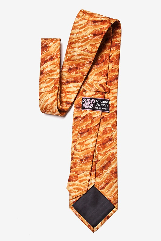 Sizzlin' Bacon Extra Long Tie Photo (1)