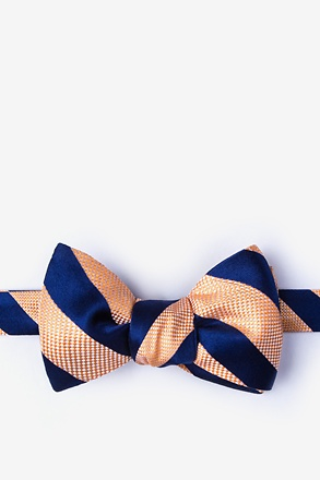 _Berkner Orange Self-Tie Bow Tie_