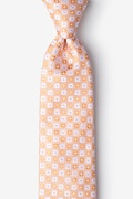 Orange Silk Boracay Extra Long Tie