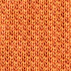 Orange Silk Classic Solid Knit Skinny Tie