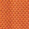Orange Silk Classic Solid Knit Tie