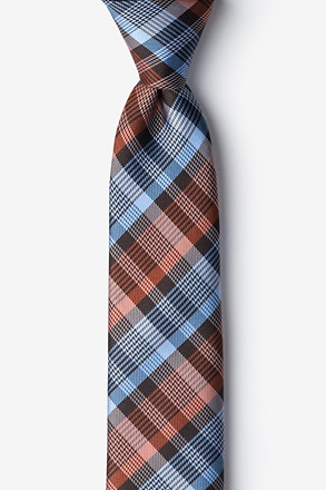 _Cornwallis Orange Skinny Tie_