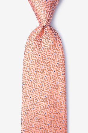 Doolittle Orange Tie