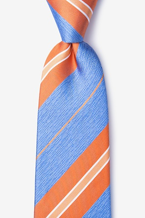 _Inny Orange Extra Long Tie_