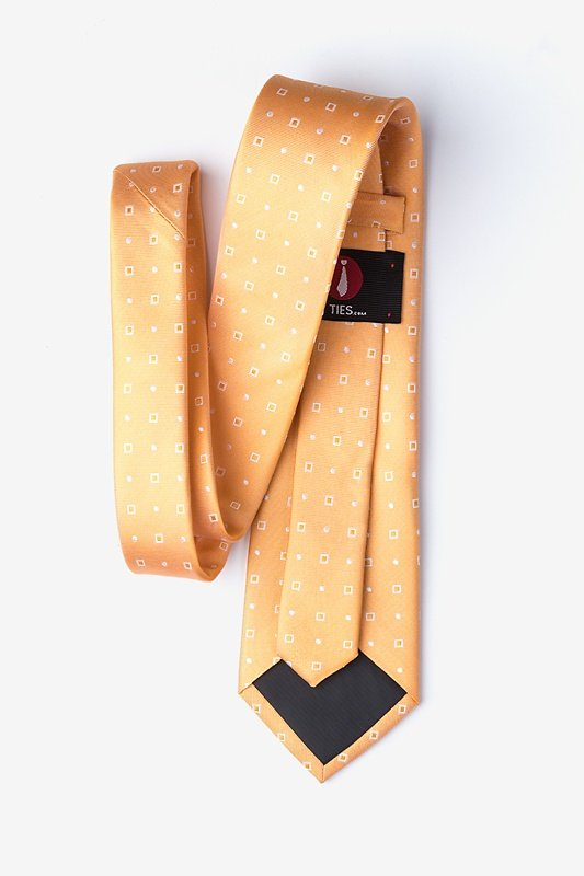 Kangaroo Orange Extra Long Tie Photo (1)