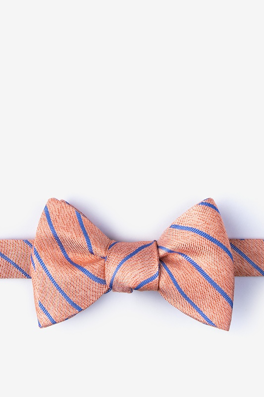 Lagan Orange Self-Tie Bow Tie