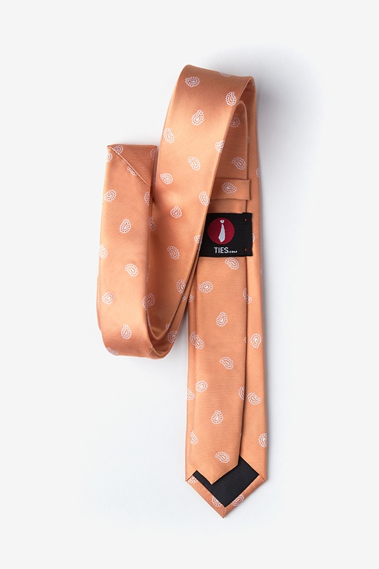 Margarita Orange Skinny Tie Photo (1)
