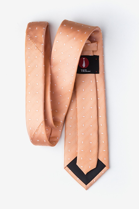 Nelson Orange Tie Photo (1)
