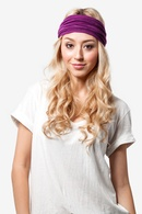 Orchid Polyester Basic Stretchy Headband