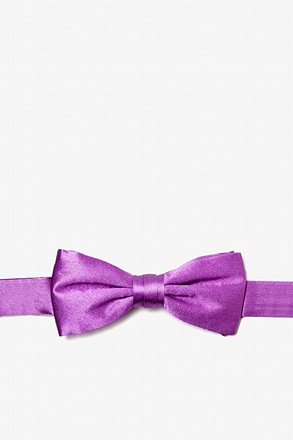 Orchid Bow Tie For Boys