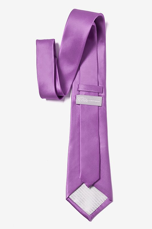 Orchid Extra Long Tie Photo (2)