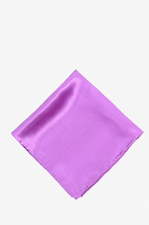 _Orchid Pocket Square_