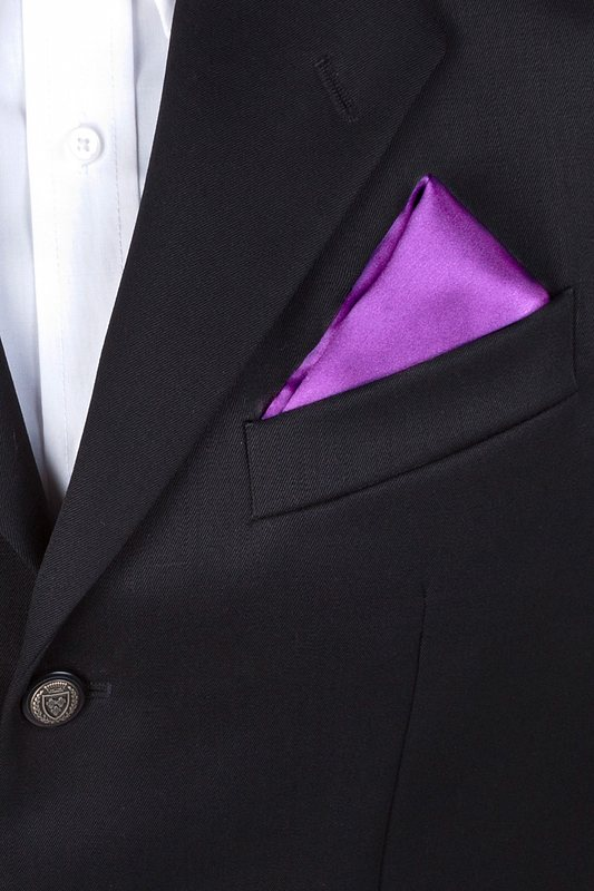 Orchid Pocket Square Photo (2)