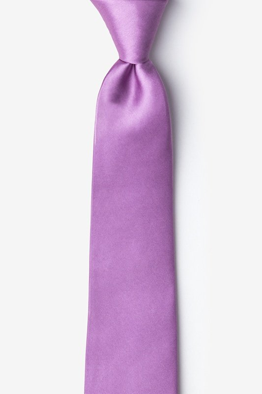 Orchid Skinny Tie Photo (0)