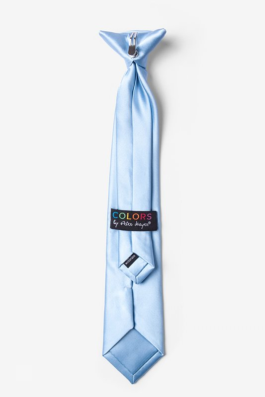 Pale Blue Clip-on Tie For Boys Photo (1)