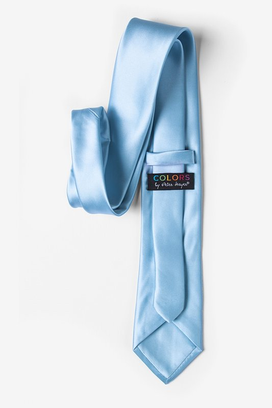 Pale Blue Extra Long Tie Photo (2)