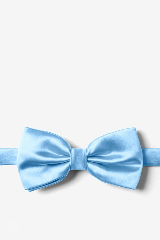 Pale Blue Pre-Tied Bow Tie Photo (0)