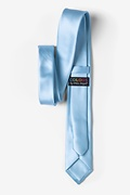 Pale Blue Skinny Tie Photo (2)